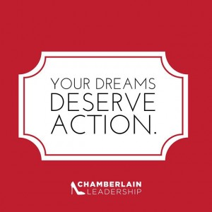 Do you give up or move toward your dream