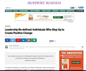HuffPost Leadership Redefined